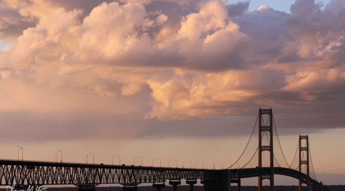 Mackinac Bridge Sunset