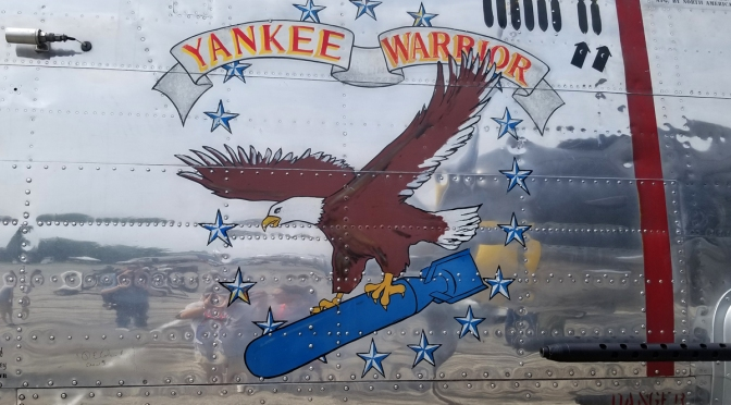 "My Ride In Yankee Air Museum's B-25D Mitchell ""Yankee Warrior"""