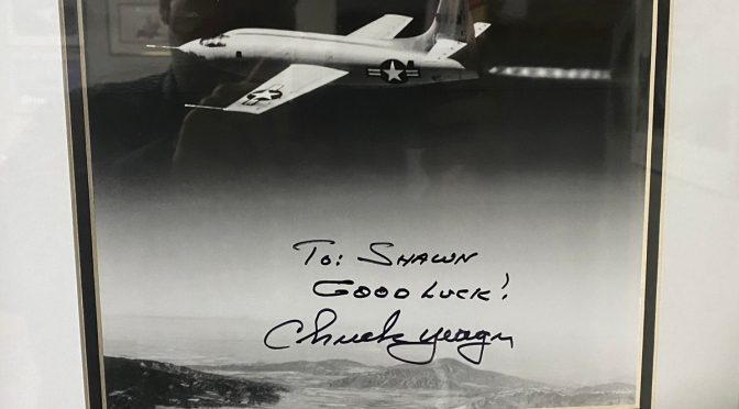Remembering My Time With An Aviation Icon: Chuck Yeager